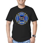 Sitka Fire Dept Dive Team Men's Fitted T-Shirt (da