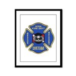 Sitka Fire Dept Dive Team Framed Panel Print