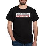 Illegal Aliens Are Not Immigr Dark T-Shirt