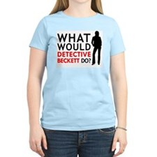 """What Would Detective Beckett Do?"" T-Shirt"