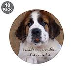 St Bernard Puppy Cookie 3.5
