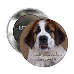 St Bernard Puppy Cookie 2.25