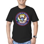 CBP Masons Men's Fitted T-Shirt (dark)