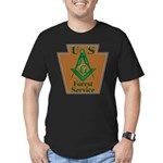 U. S. Forest Service Men's Fitted T-Shirt (dark)