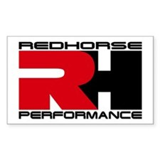Redhorse Rectangle Decal