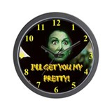 I'LL GET YOU MY PRETTY! Wall Clock