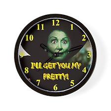 I'LL GET YOU MY PRETTY! Wall Clock