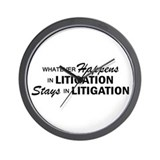 Whatever Happens - Litigation Wall Clock
