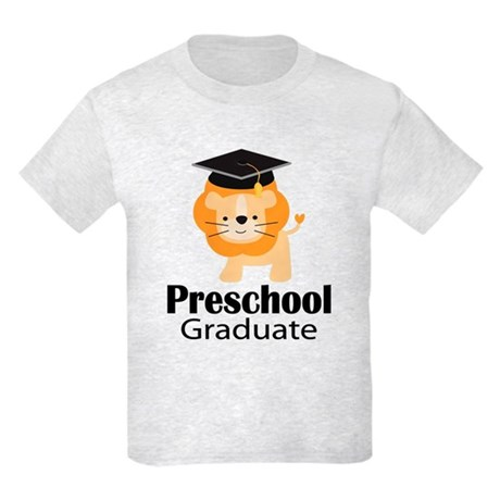 Preschool Graduation Lion Kids Light T-Shirt