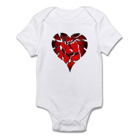 Broken Heart Infant Creeper
