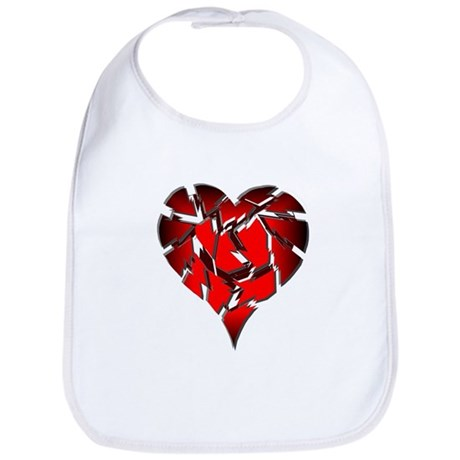 Broken Heart Bib