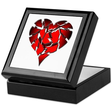 Broken Heart Keepsake Box