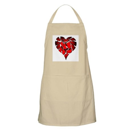 Broken Heart BBQ Apron