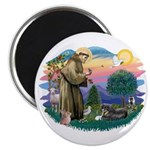 St Francis #2/ Tibetan Span Magnet