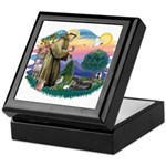 St Francis #2/ Tibetan Span Keepsake Box