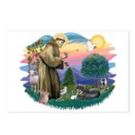 St Francis #2/ Tibetan Span Postcards (Package of
