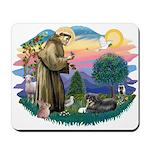 St Francis #2/ Tibetan Span Mousepad