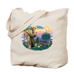 St Francis #2/ Tibetan Span Tote Bag