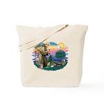 St Francis #2/ Tibetan Span Tote Bag