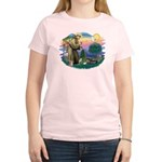 St Francis #2/ Tibetan Span Women's Light T-Shirt