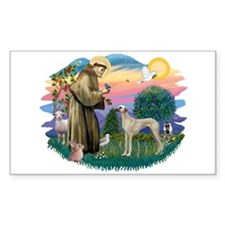 St Francis #2/ Sloughi Decal