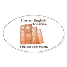 English Teacher/Math Decal