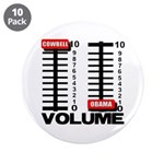 "More Cowbell 3.5"" Button (10 pack)"