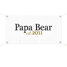 New Papa Bear 2011 Banner
