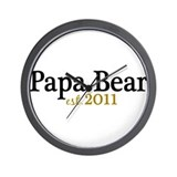 New Papa Bear 2011 Wall Clock