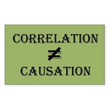 Correlation Causation Decal
