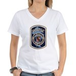 Anne Arundel County Police Women's V-Neck T-Shirt