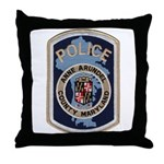 Anne Arundel County Police Throw Pillow