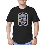 Anne Arundel County Police Men's Fitted T-Shirt (d