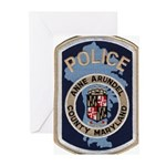 Anne Arundel County Police Greeting Cards (Pk of 2