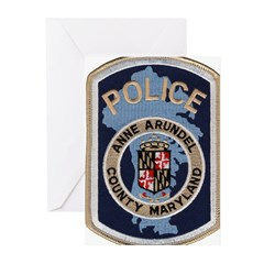 Anne Arundel County Police Greeting Cards (Pk of 1