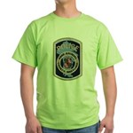Anne Arundel County Police Green T-Shirt