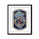 Anne Arundel County Police Framed Panel Print