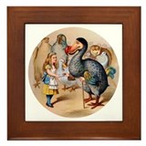 ALICE &amp; THE DODO BIRD Framed Tile