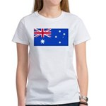 Australia Blank Flag Women's T-Shirt
