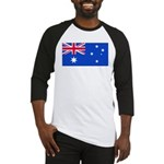 Australia Blank Flag Baseball Jersey