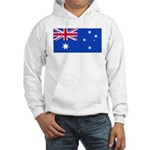 Australia Blank Flag Hooded Sweatshirt