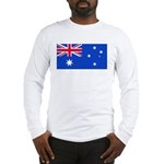Australia Blank Flag Long Sleeve T-Shirt