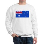 Australia Blank Flag Sweatshirt