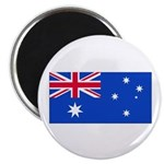 Australia Blank Flag Magnet