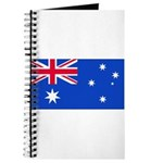 Australia Blank Flag Journal