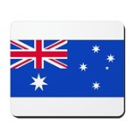 Australia Blank Flag Mousepad