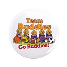 "Team Buddies 3.5"" Button (100 pack)"