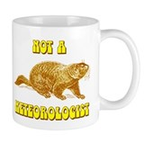 Not A Meteorologist Groundhog Small Mug