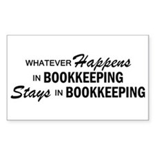 Whatever Happens - Bookkeeping Decal
