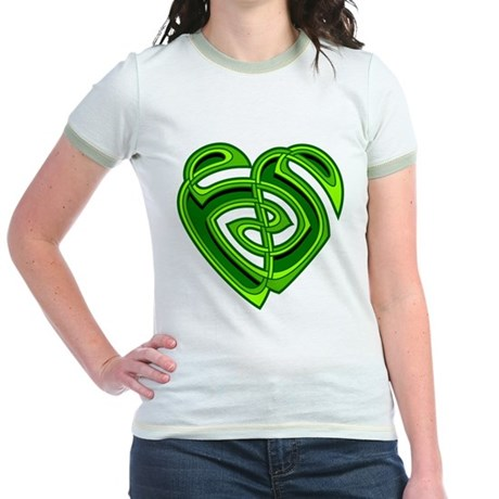 Wde Heartknot Jr. Ringer T-Shirt